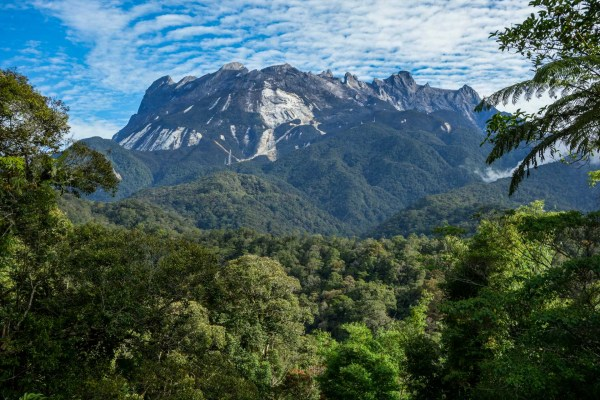 Mount Kinabalu - rare unclouded view on the many summits of Southeast Asias highest mountain Christian Jansen & Maria Düerkop