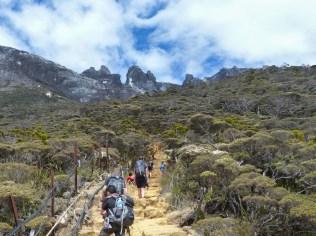Mount Kinabalu - Trek to the basecamp: tourist highway Christian Jansen & Maria Düerkop
