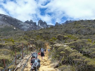 Mount Kinabalu - Trek to the basecamp: tourist highway Christian Jansen & Maria Düerkop