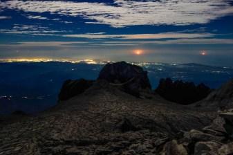 Mount Kinabalu - Morning mood over Kota Kinabalu Christian Jansen & Maria Düerkop