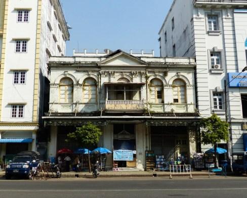 Yangon - Colonial building Christian Jansen & Maria Düerkop