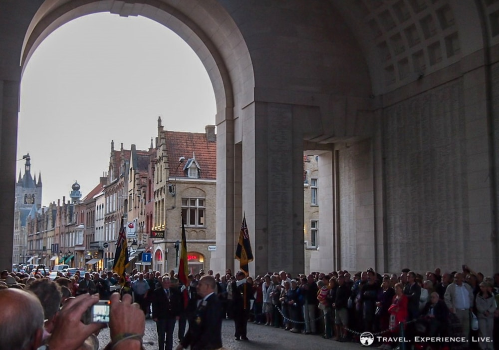 Last Post Ceremony, Ypres, Belgium