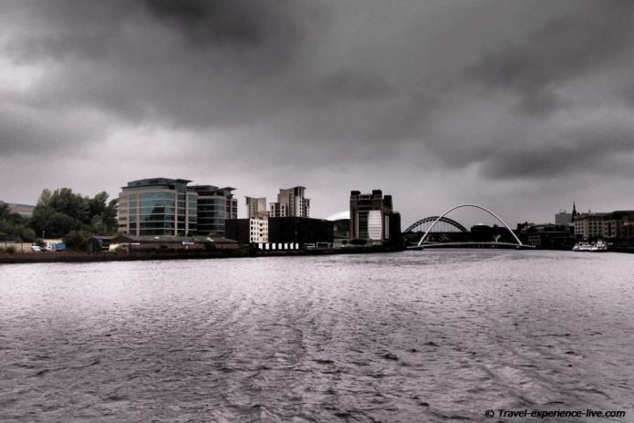 Skyline of Newcastle, England