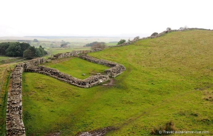 Milecastle 42 on Hadrian's Wall