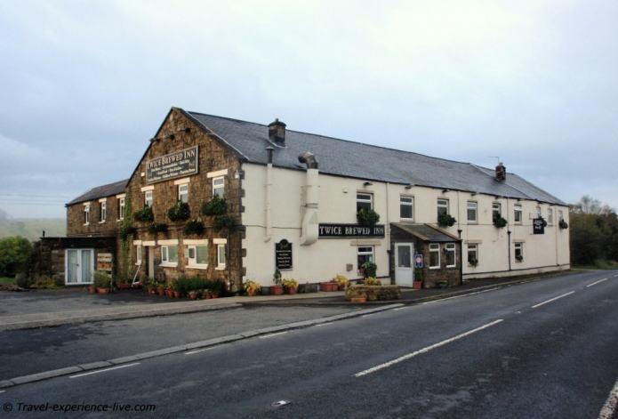 Twice Brewed Inn, near the Hadrian's Wall Path
