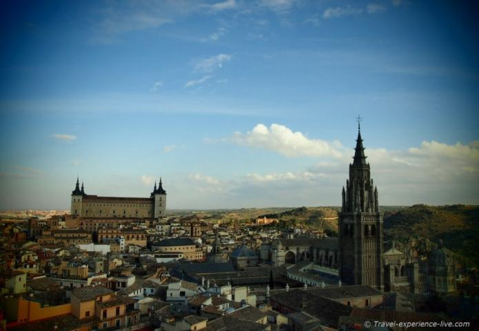 Toledo seen from the towers of the Jesuit Church