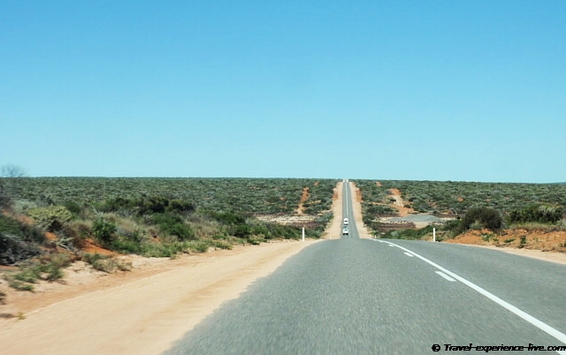 The main road in Western Australia.