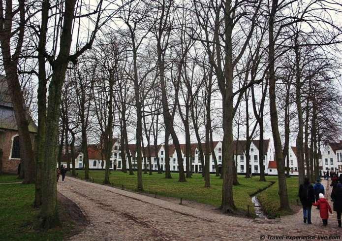 The Beguinage in Bruges.