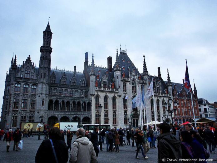 The 'Burg' in Bruges, Belgium.