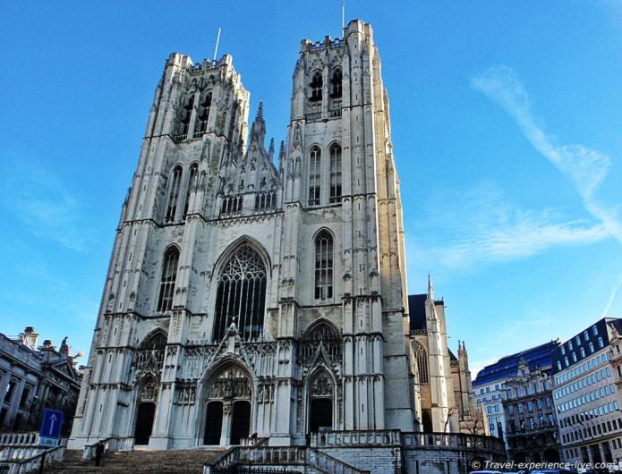 Cathedral of Saint Michael and Saint Gudula, Brussels.