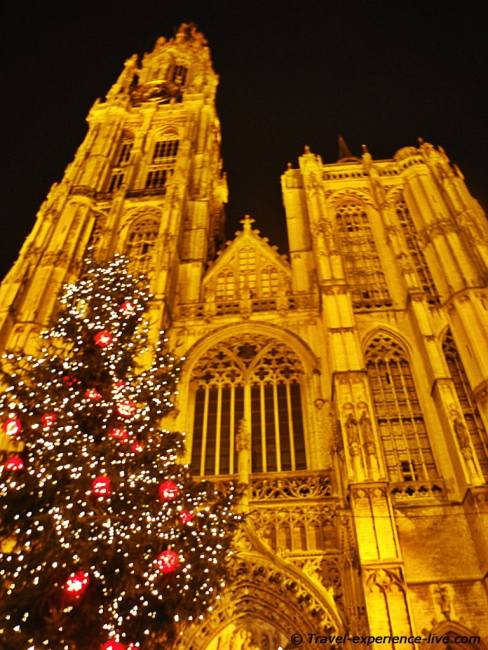 Cathedral of Our Lady in Antwerp.