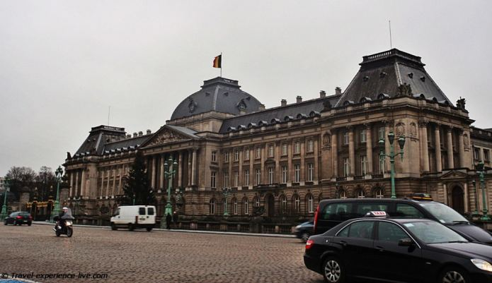 Royal Palace in Brussels, Belgium.