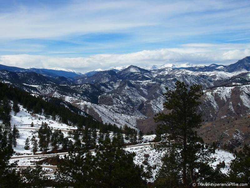 Lookout Mountain, the Rocky Mountains, Colorado.