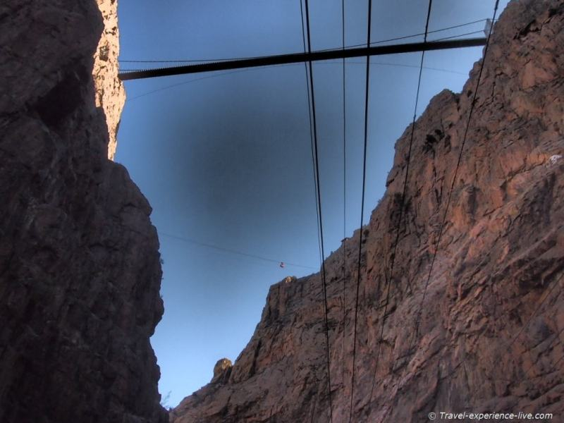 Royal Gorge Bridge, Canon City, Colorado.