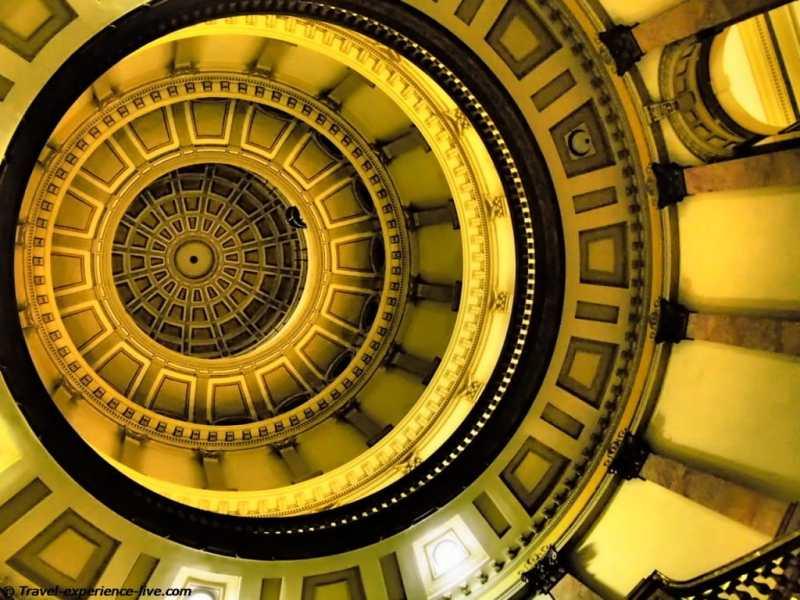 Dome of the Colorado State Capitol, Denver.