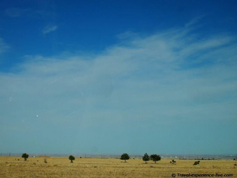 Prairie in Colorado.