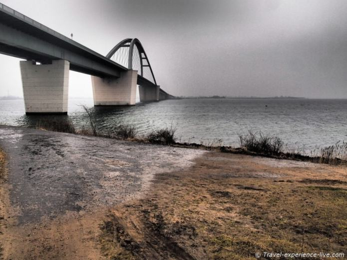 Fehmarn Bridge, Germany.