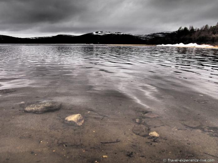 Lake in Finnmark, Norway.