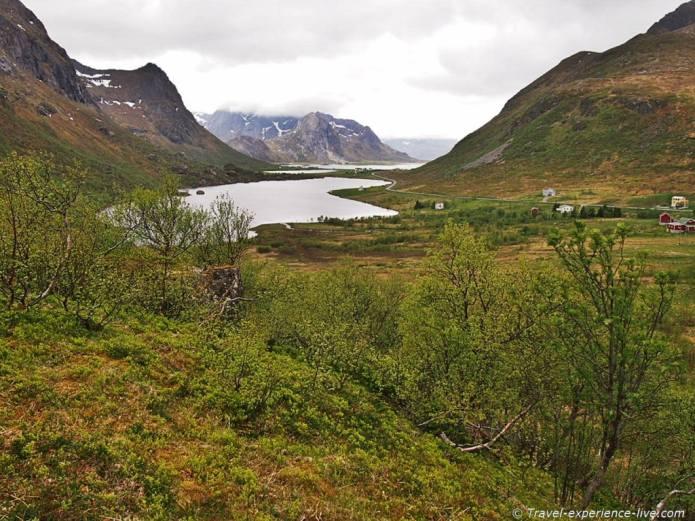 Fabulous landscape in Lofoten, Norway.