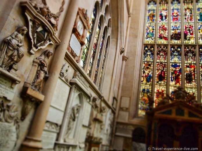 Bath Abbey, England.