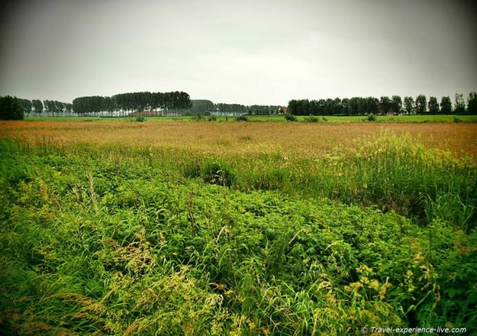 Belgian landscape.
