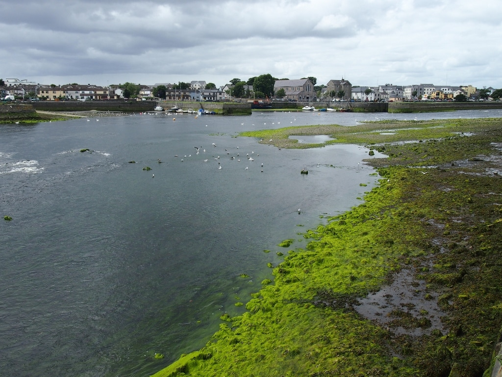 Waterfront in Galway, Irish west coast.