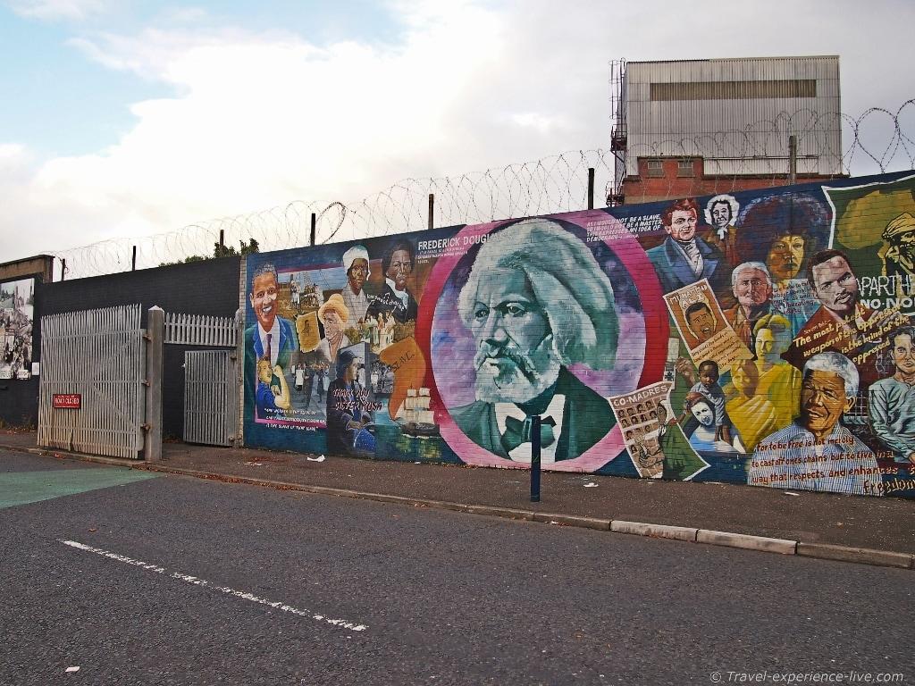 Falls Road murals, West Belfast