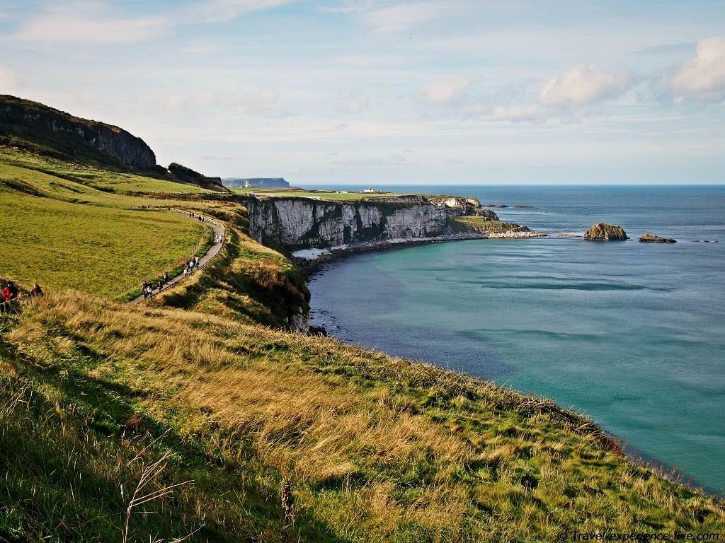 Coastal walk, Antrim Coast