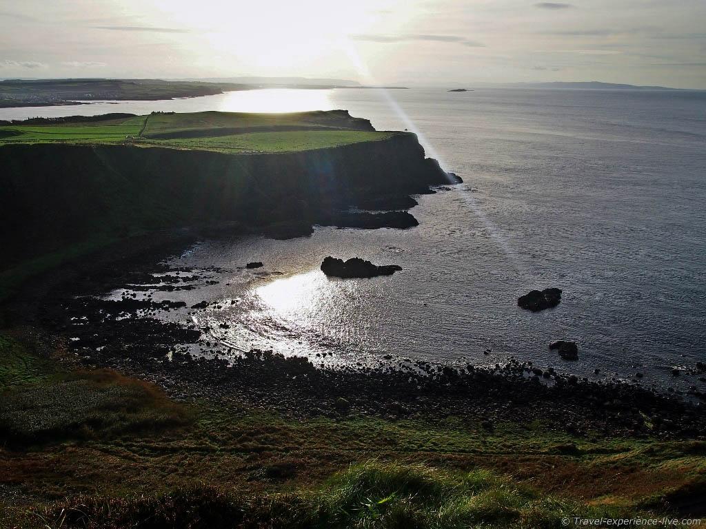 Stunning coastline in Northern Ireland