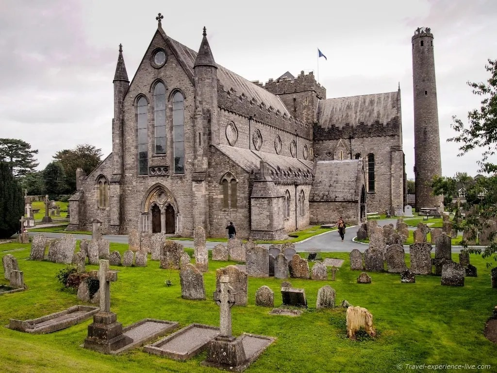 St Canice's Cathedral in Kilkenny, Ireland