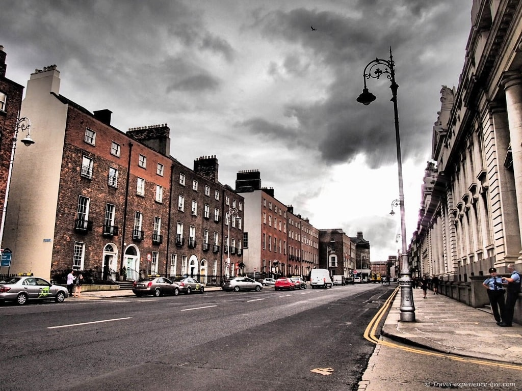 Irish streets: Georgian Dublin.