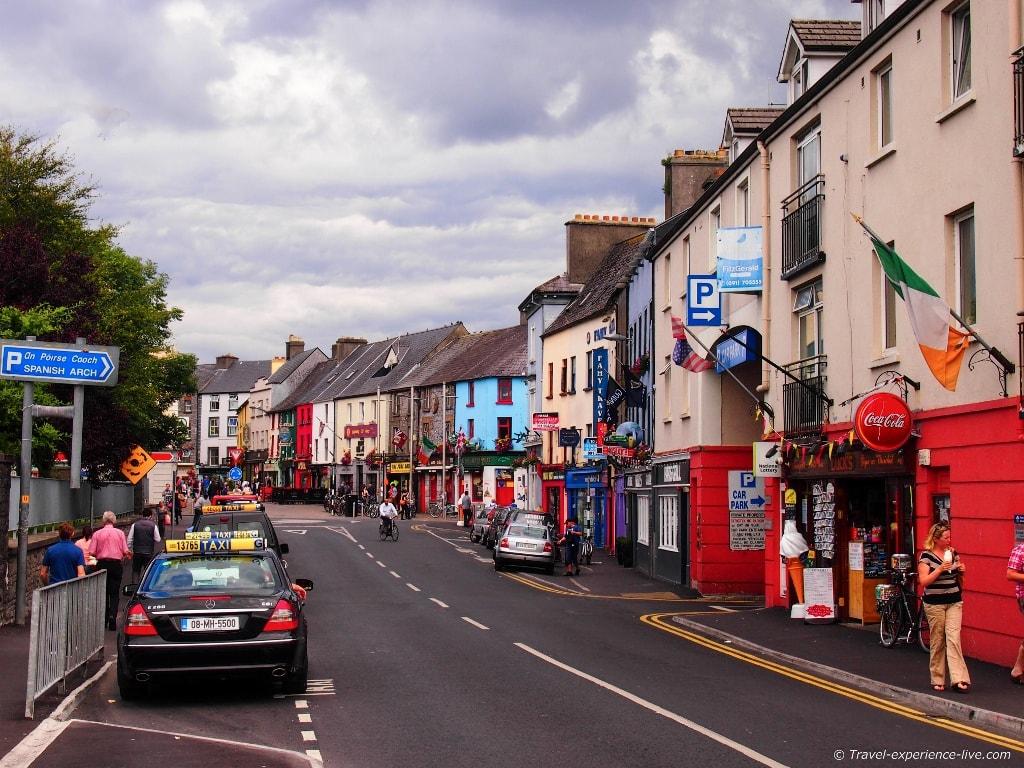 Irish streets: Galway.