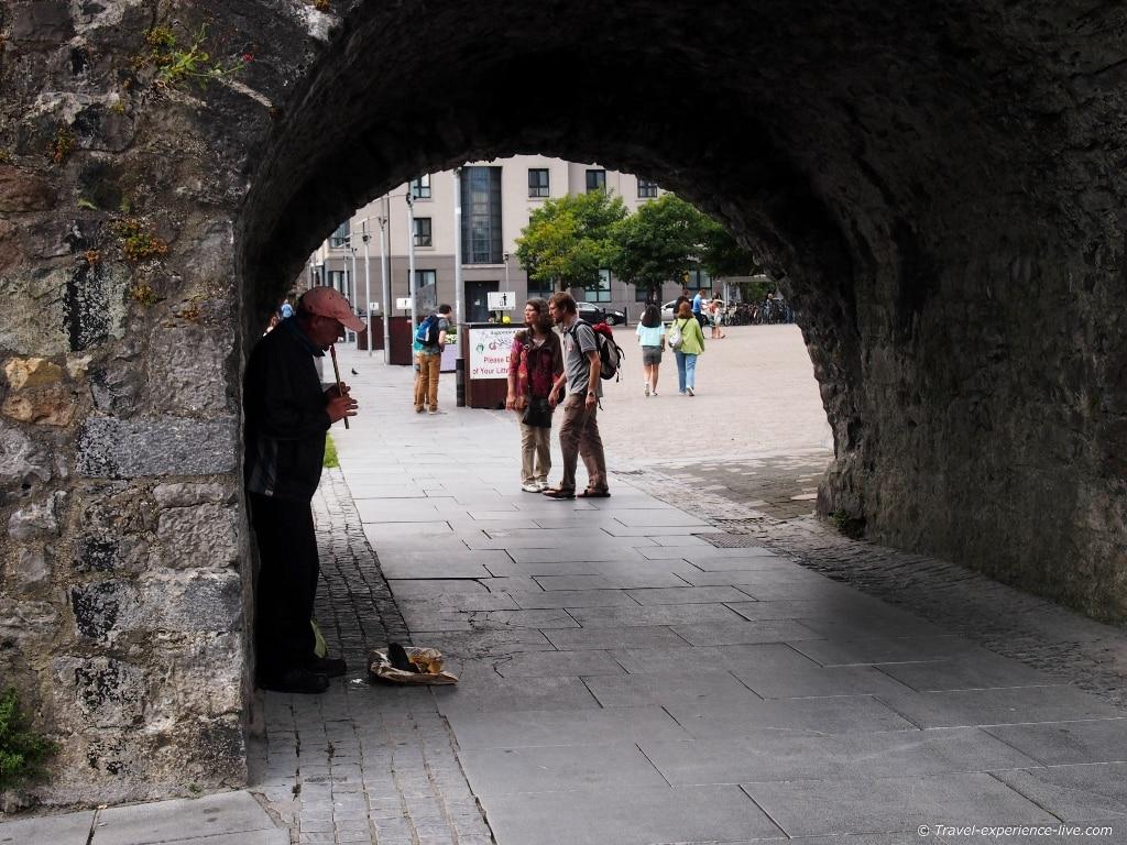 Spanish Arch in Galway, Ireland.