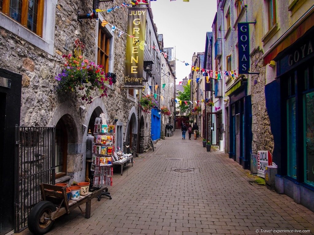 Irish streets: Kirwan's Lane in Galway.