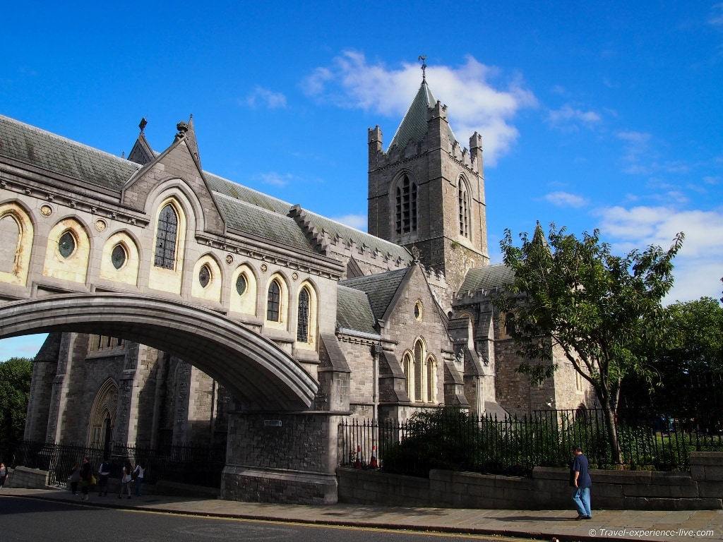 Dublin's Christ Church Cathedral, Ireland.