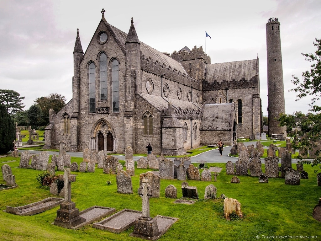 Saint Canice's Cathedral in Kilkenny, Ireland.