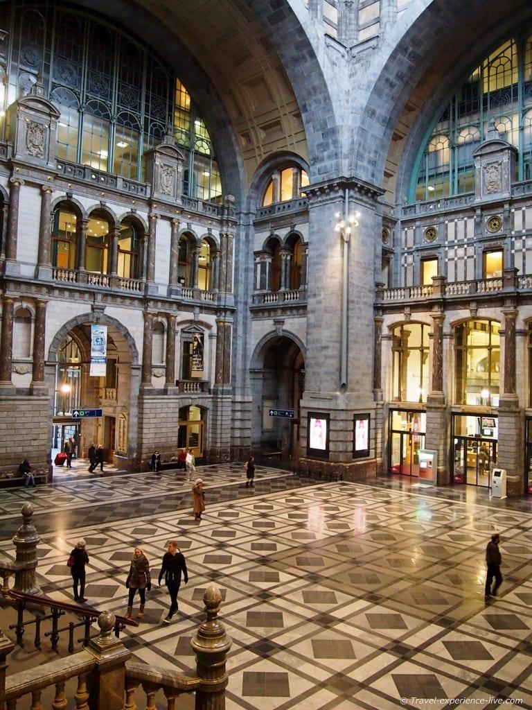 Antwerp Central Station, Belgium.