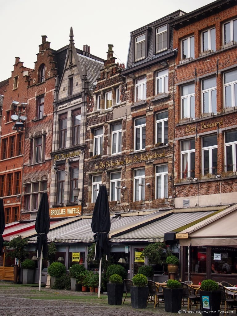 A few nice places to go for a strong Belgian beer or a waffle!