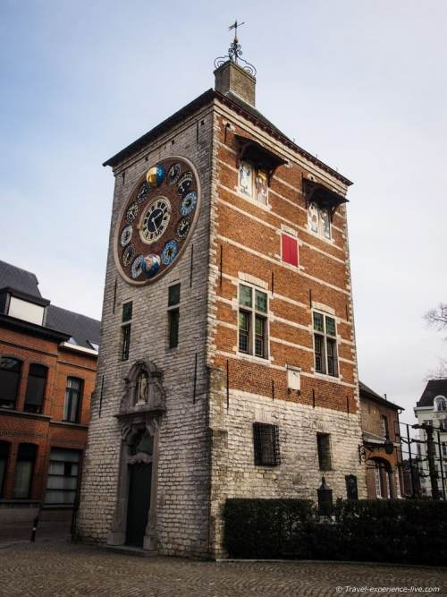Zimmer Tower and Jubilee Clock in Lier, Belgium.