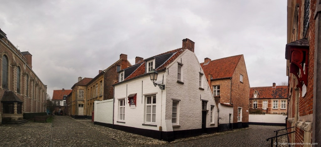 Beguinage house in Lier, Belgium