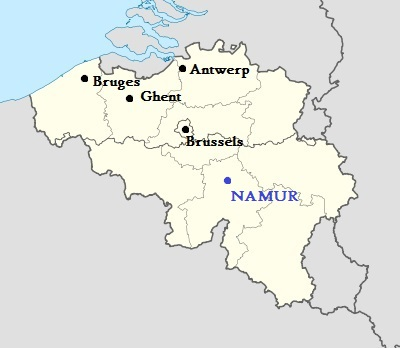 Location Namur