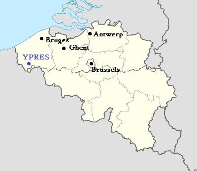 Location Ypres, Belgium