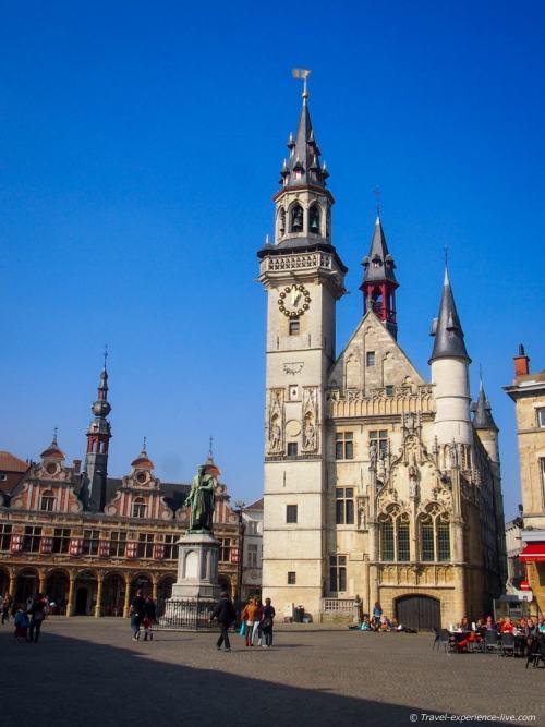 Belfry of Aalst, Belgium