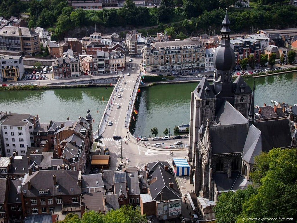 View from Dinant Citadel, Belgium