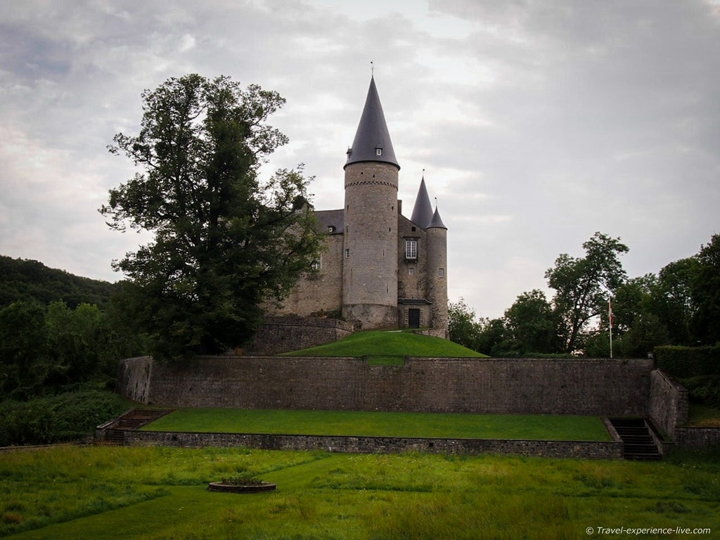 The Castle of Vêves, Belgium