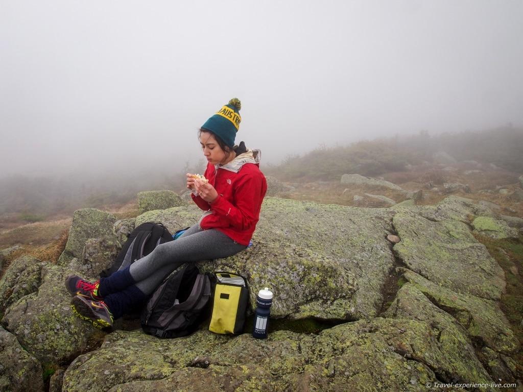 Mount Moosilauke summit, NH.