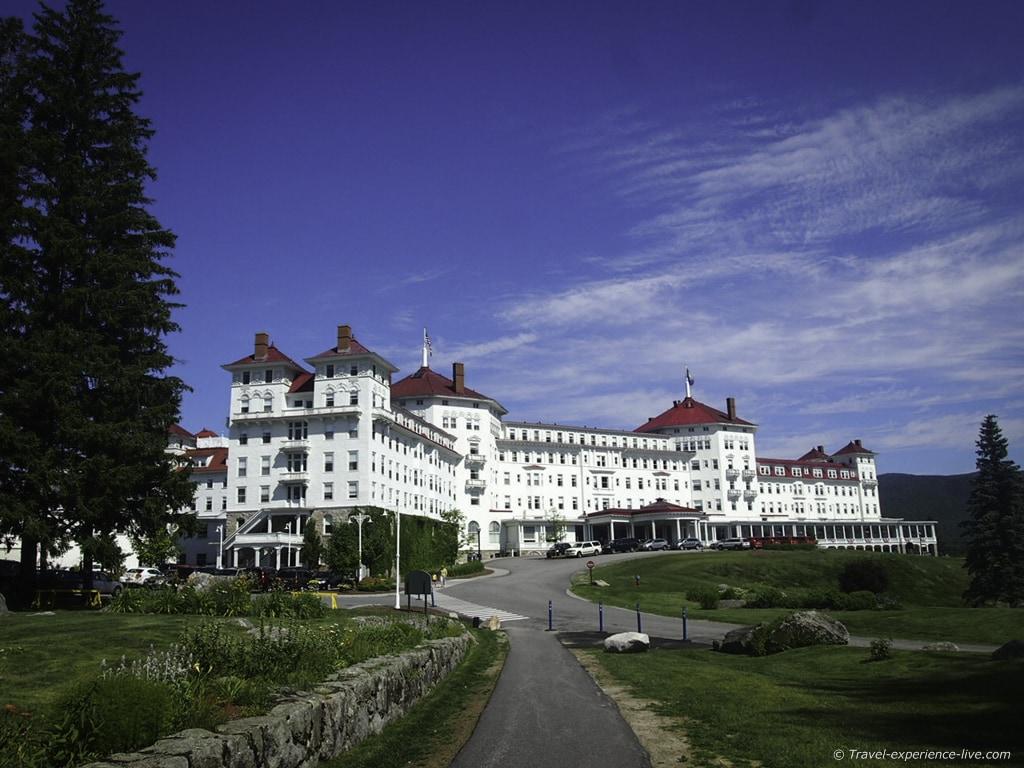 Mount Washington Resort in Bretton Woods.