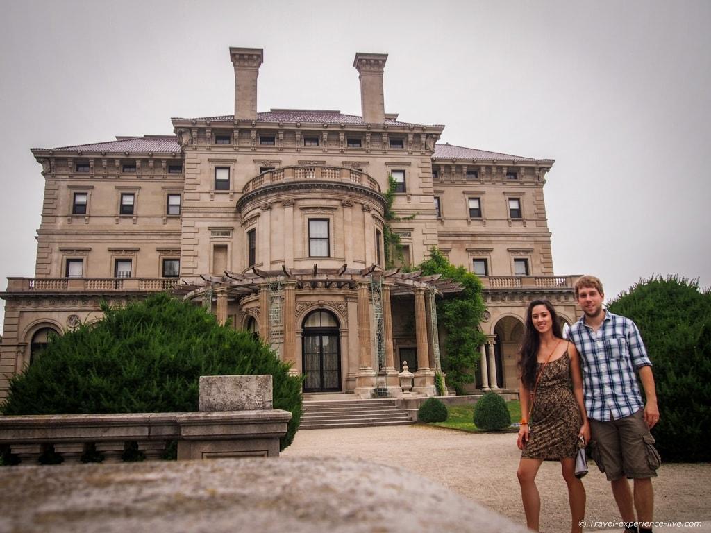 Visit to Rhode Island: The Breakers in Newport.