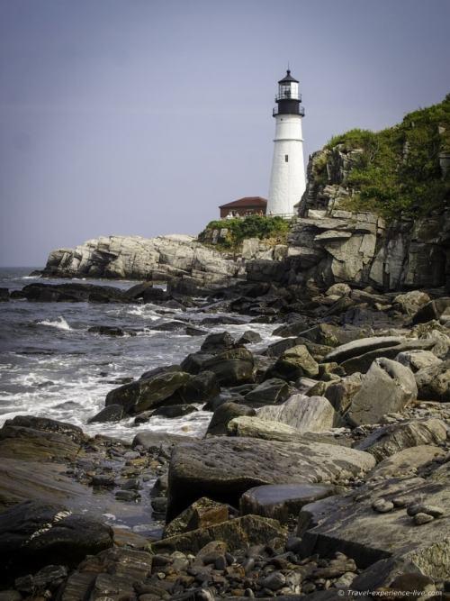 The Portland Head Light, Maine.