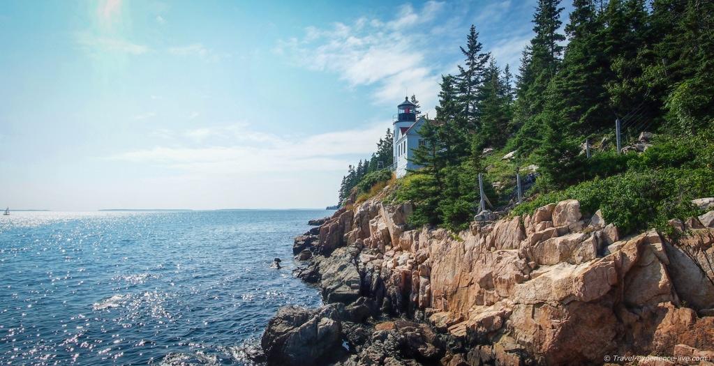 Bass Head Lighthouse in Acadia National Park.